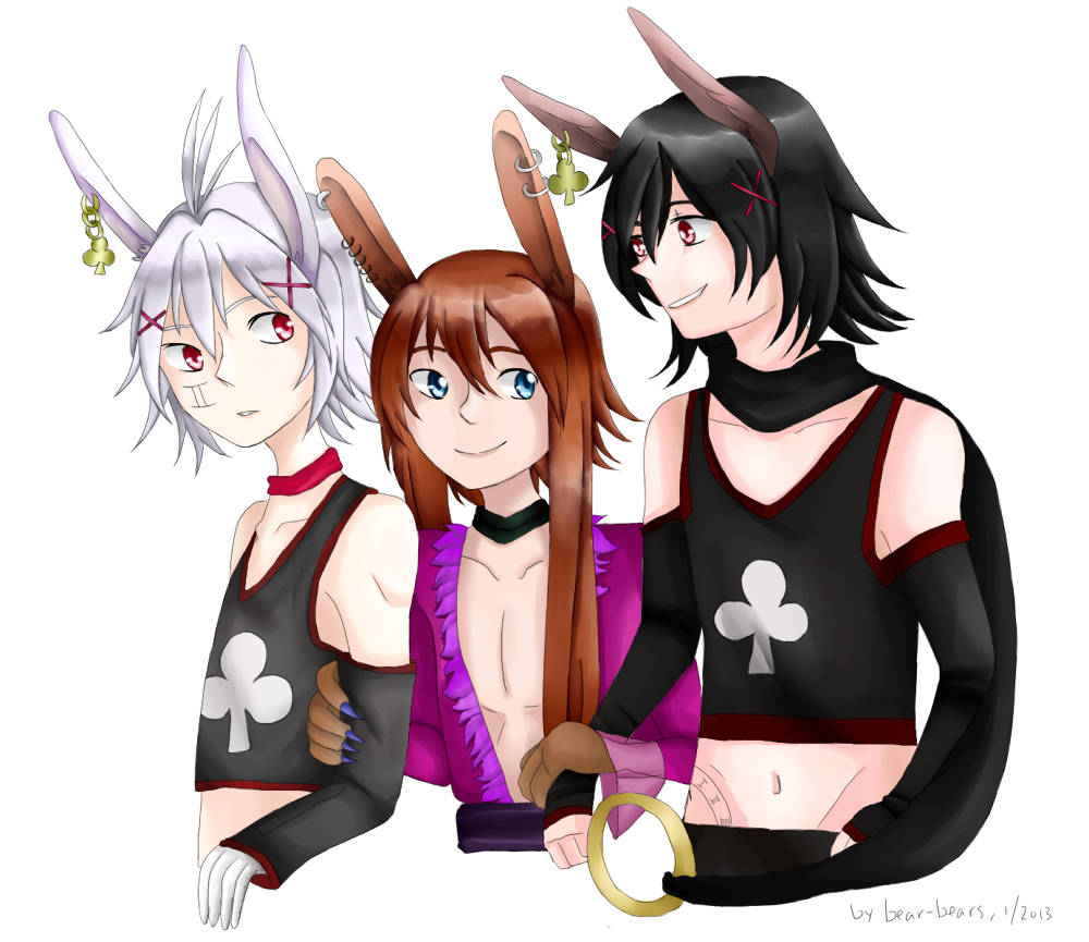 Trio ~ Kurozora Konoi by beartachi