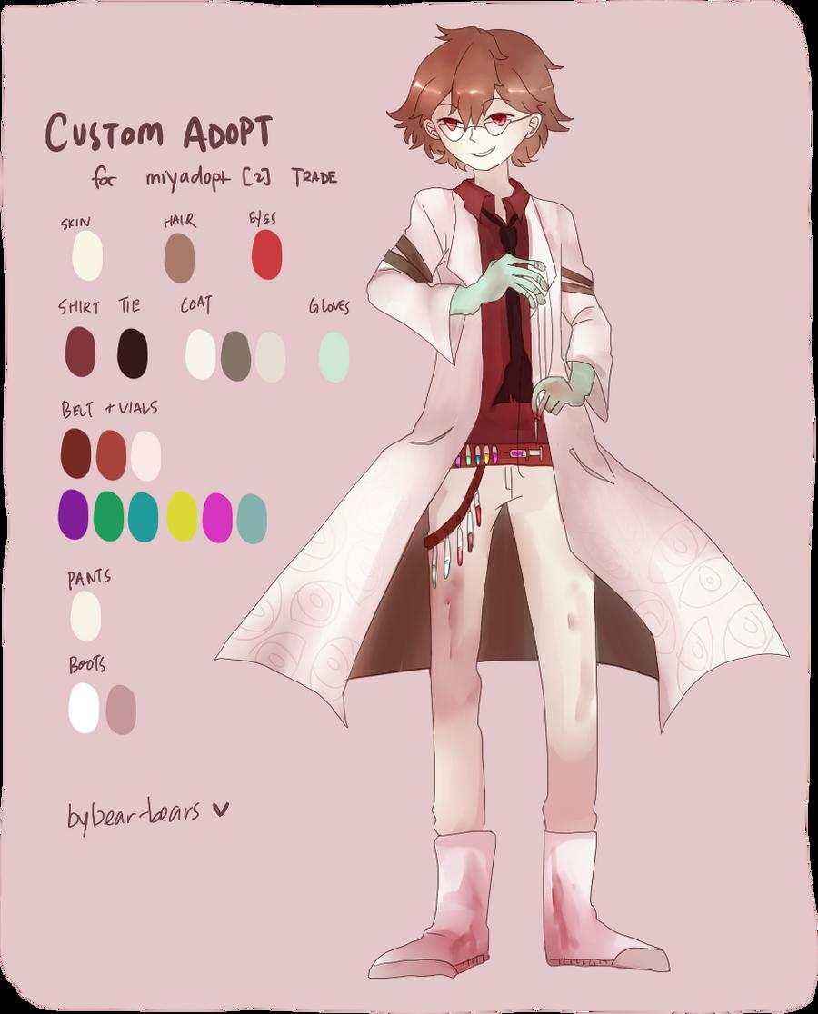 Custom Adopt: miyadopt [2] by beartachi