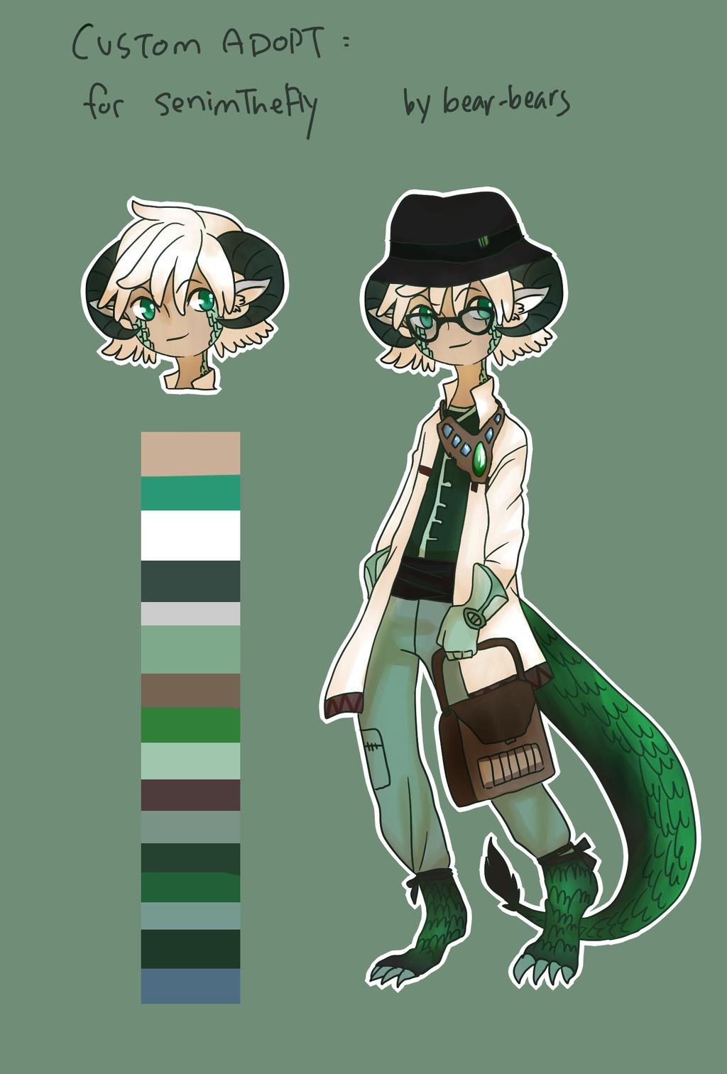 Custom Adopt: SenimTheFly by beartachi