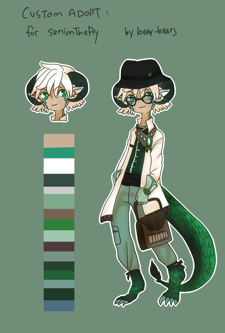 Custom Adopt: SenimTheFly by beartachi