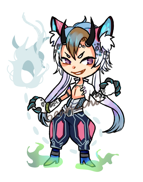 Summer Chibi CMs : Iprie by beartachi