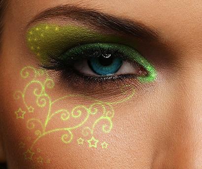 Green Swirls by rodeochick92