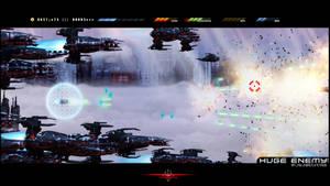 HUGE ENEMY - WORLDBREAKERS   - Zoom boy attacks B by HugeEnemy