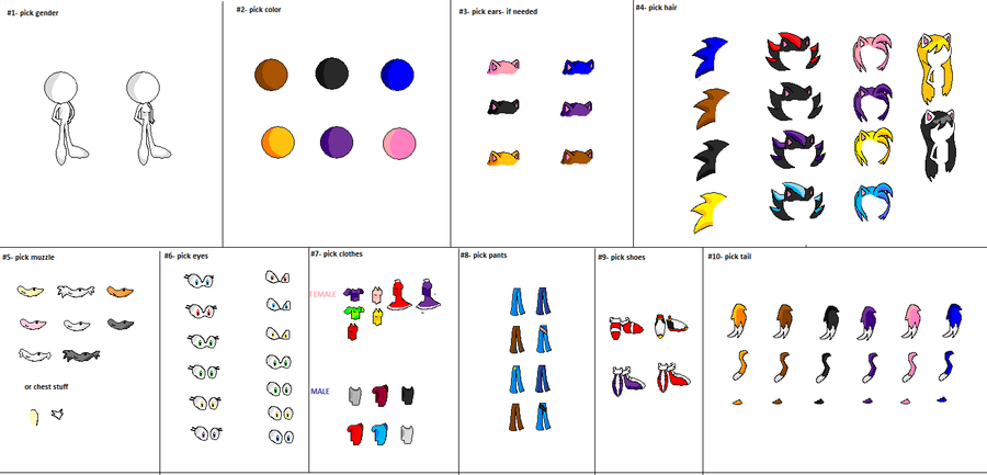 Sonic Fan Character Sprites – HD Wallpapers
