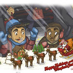 Magical Christmas by Studion8