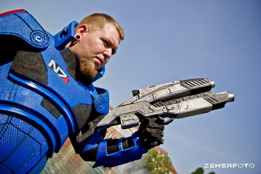 Commander Shepard costume 2 by Lifeburn