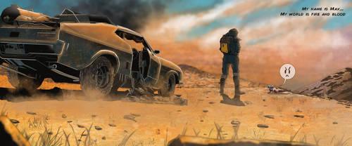Stillframe Study: Mad Max Fury Road - Intro by NumenSkog