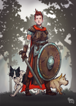 Commission: Viking Maiden