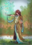 Commission: Elf Maiden