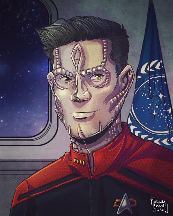 Commission: Captain Grif Mallan