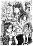 Katsim Peri Sketches