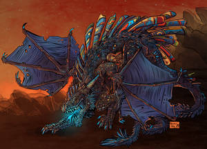 Commission: Chaos Dragon