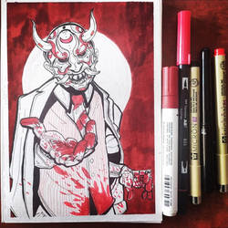 Dystopianink: Day 20 - A Malevolent Overlord