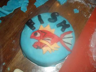 pokemon magikarp cake