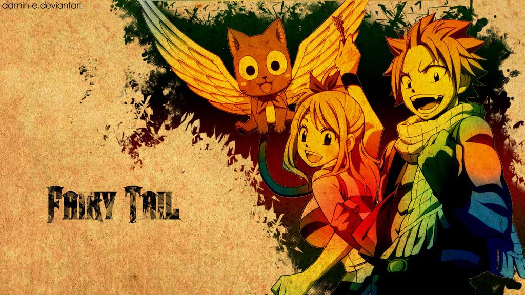 Fairy Tail Wallpaper 02 by AdminE on DeviantArt