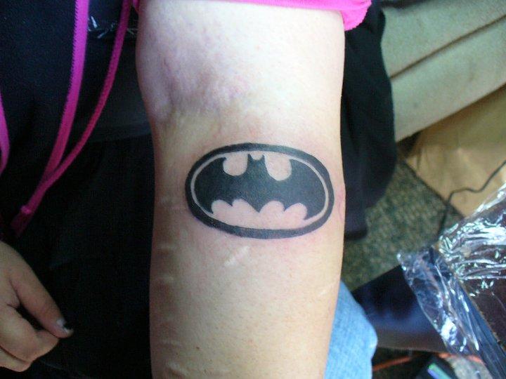 batman tattoo by ravercandy