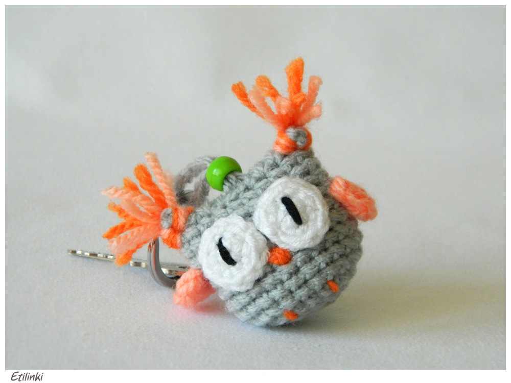 Ravelry: Owl Key Chain pattern by Yarn Artists | 750x1000