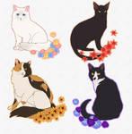 katzen (sticker sets available for 5 USD)