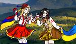 West Ukraine and Nyo!Romania by UkrainieZapadenska