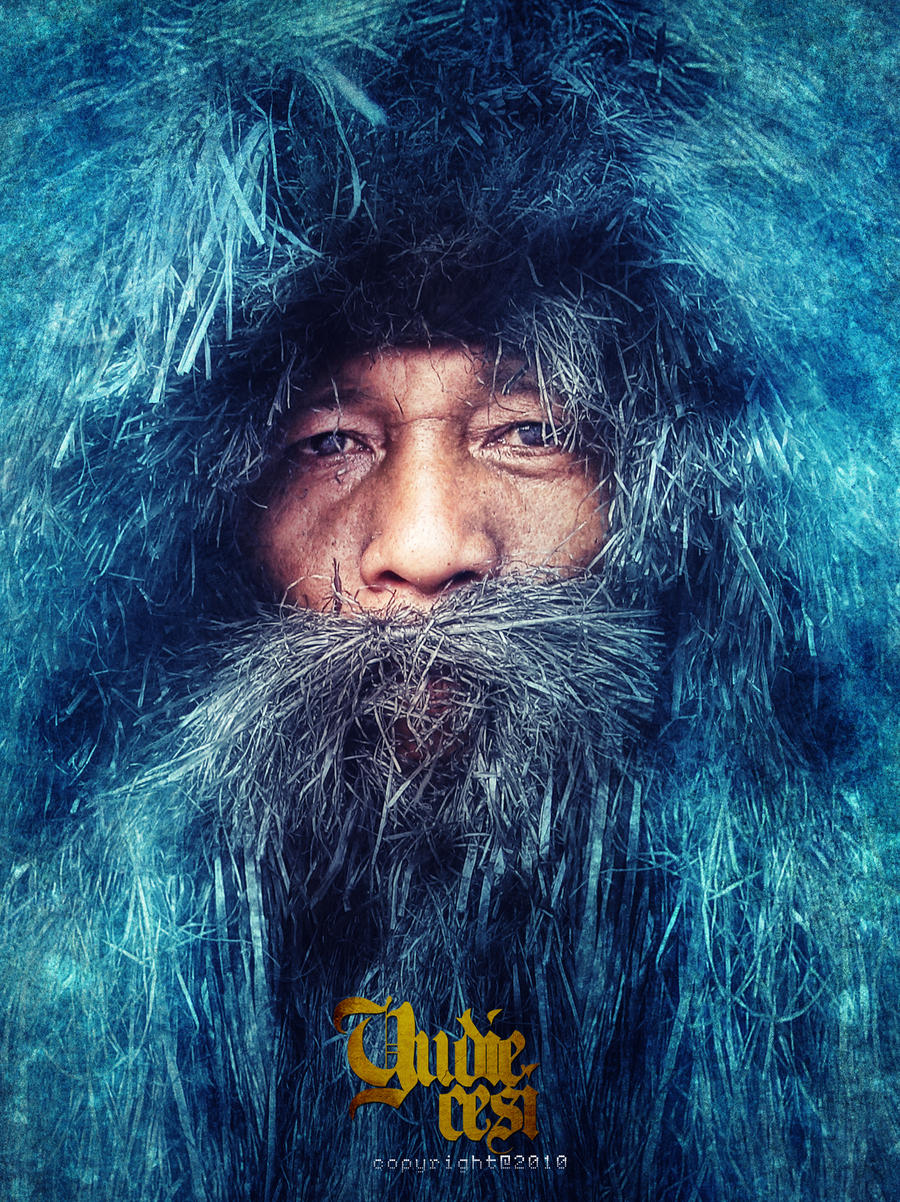 the blue man by yudidie
