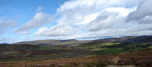 Scotland Panorama by Helixa