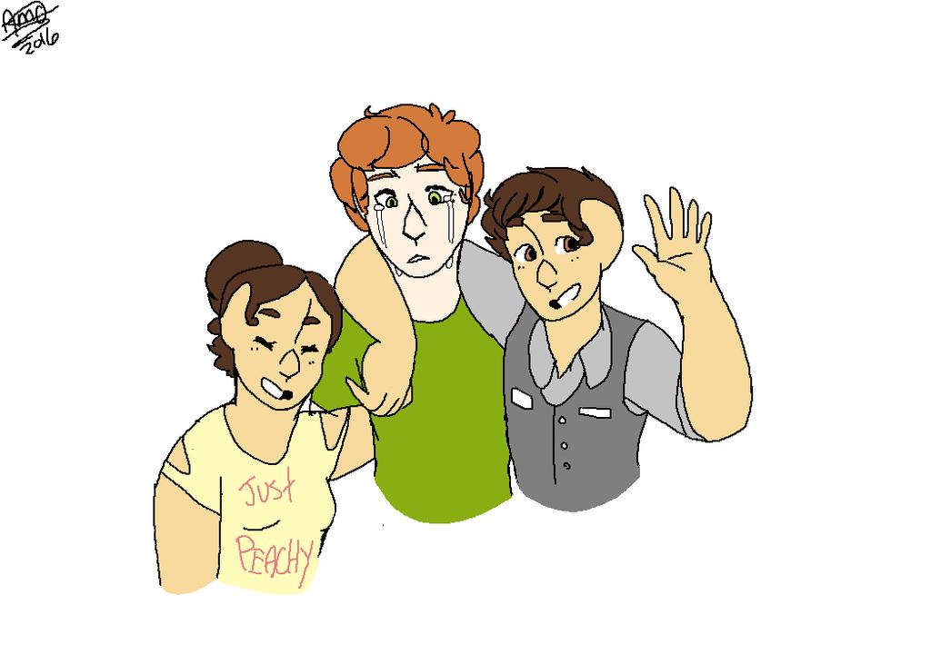 Teagan, Finn, and Charlie by darlingdeers