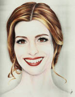 Anne Hathaway by Sarickbanana