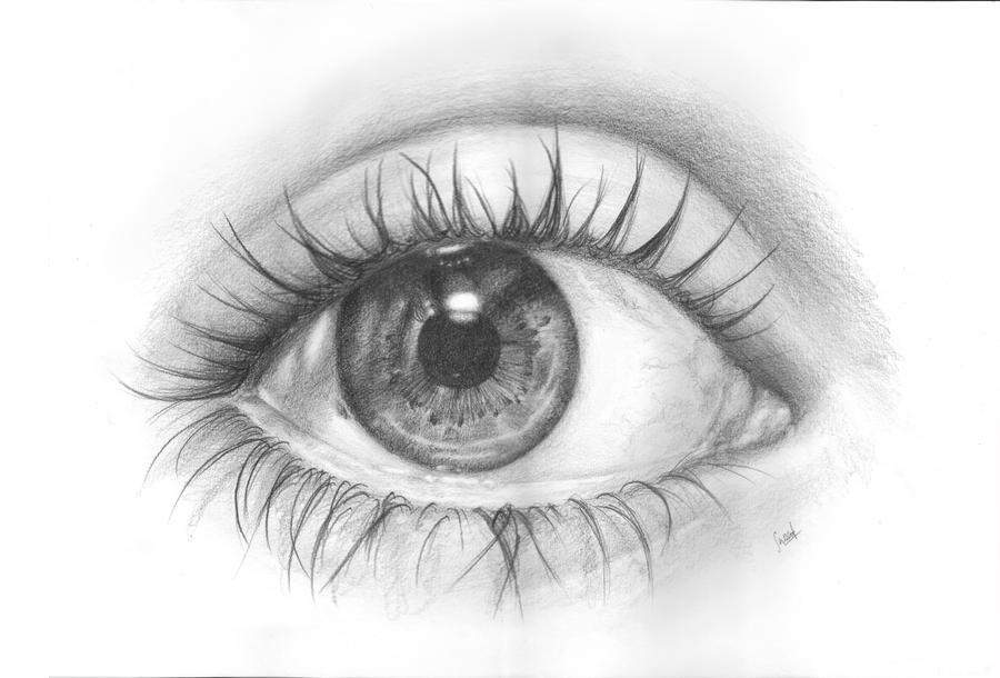 Self eye by Sarickbanana