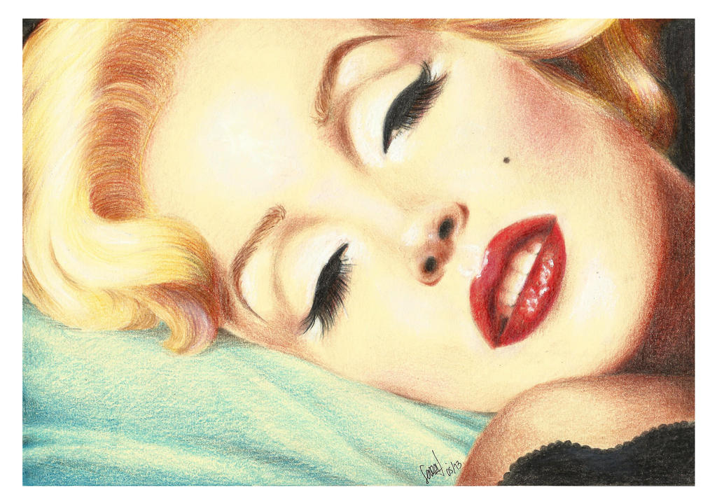 Marilyn Monroe by Sarickbanana