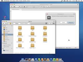 Arbeit elementary desktop by Dolsilwa
