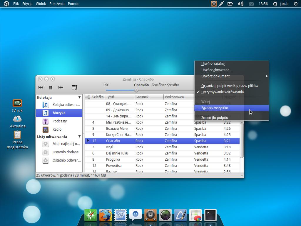 Elementary desktop - Equinox by Dolsilwa