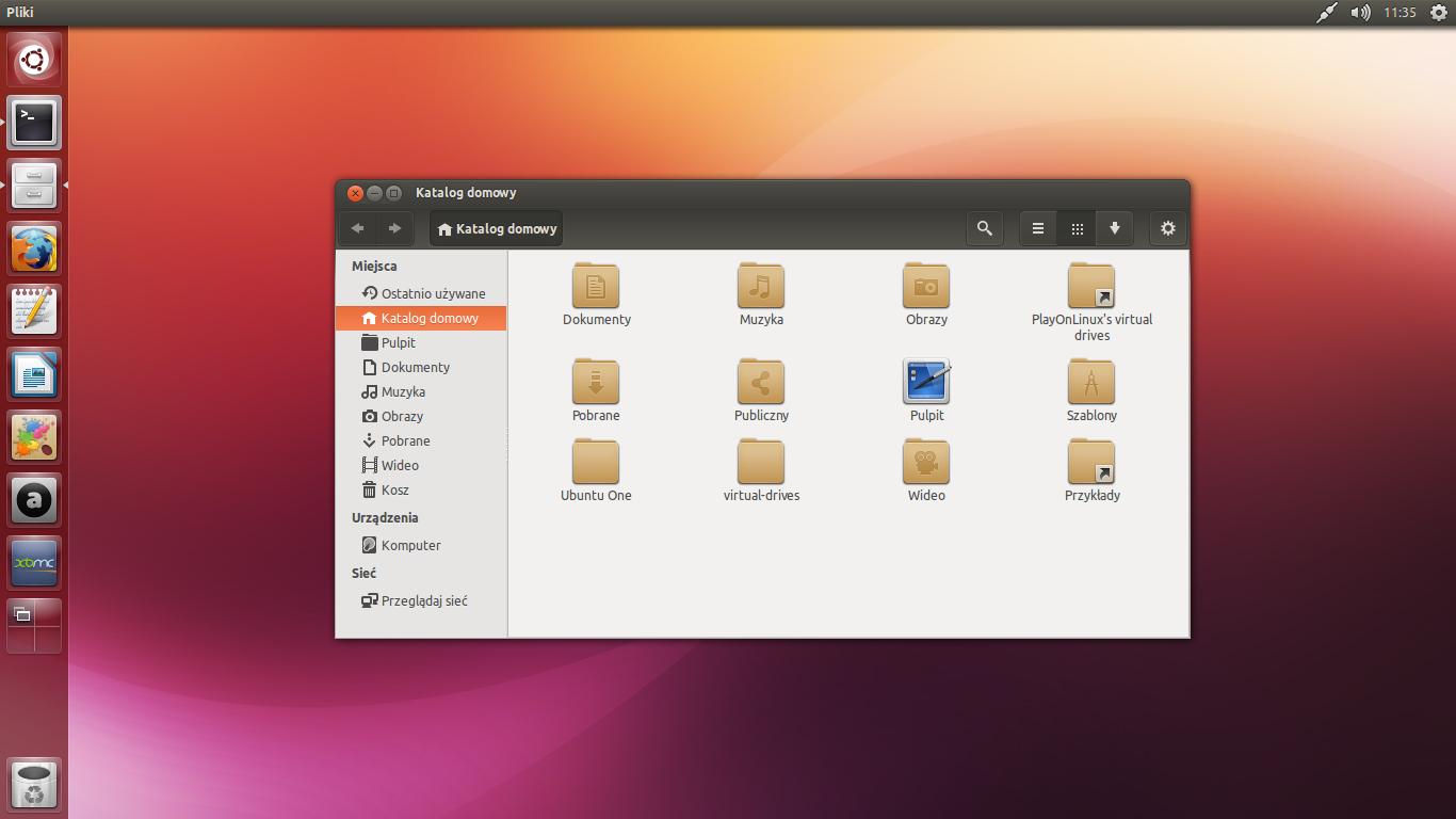 Ubuntu 13.10 Desktop Ubuntu 13.10 by Dolsil...