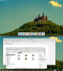 16.10 Ubuntu-Mate Desktop by Dolsilwa