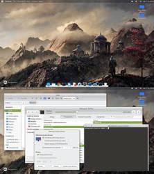 Desktop screenshot - november 2018 by Dolsilwa