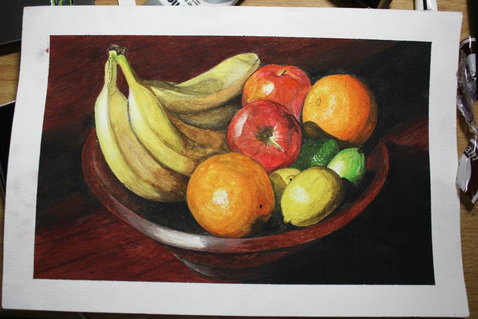 Fruits - Watercolor by eistienejohn