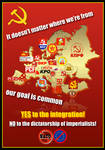 European communism - propaganda