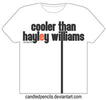 Cooler than Hayley Williams by candledpencils