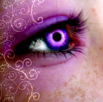 Galaxy Swirl Eye by HunterJumper5