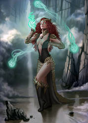 Sorceress by LeoNeal-CP