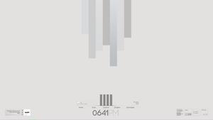 Minimal Grey Bar theme