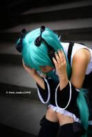 Loneliness - Hatsune Miku by farizasuka