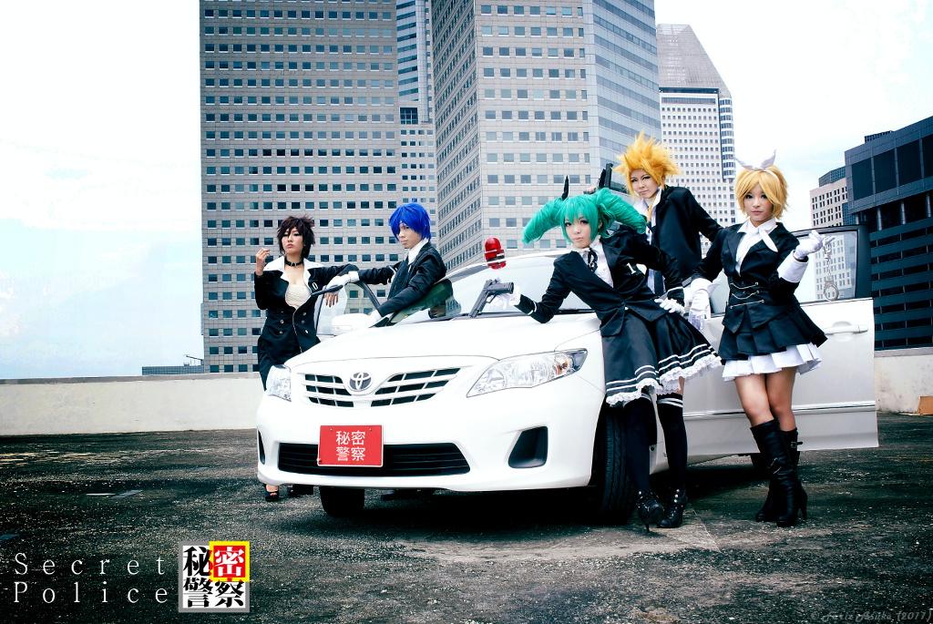 Vocaloid - Secret Police by farizasuka