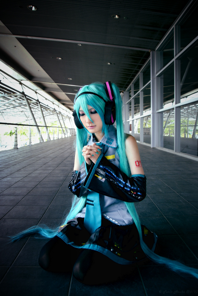 H.Miku: Prayer of Hope by farizasuka