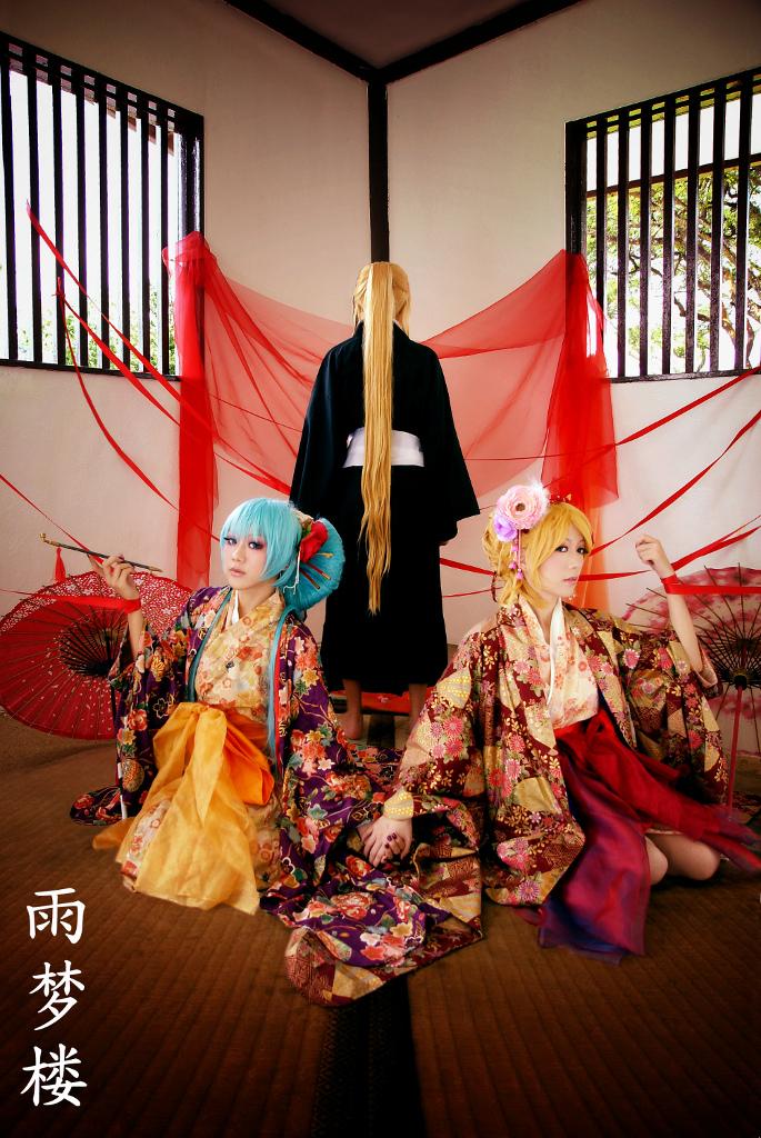 Vocaloid - Ame Yume Rou by farizasuka