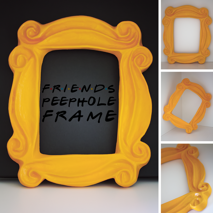 QueenLoft Apps We serve the Best Friends peephole photo frame