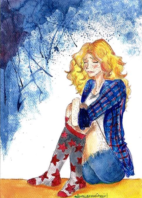 Feeling blue by AlwaysReadingGirl