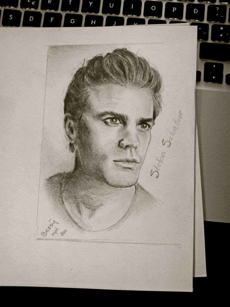 How To Draw Stefan Salvatore