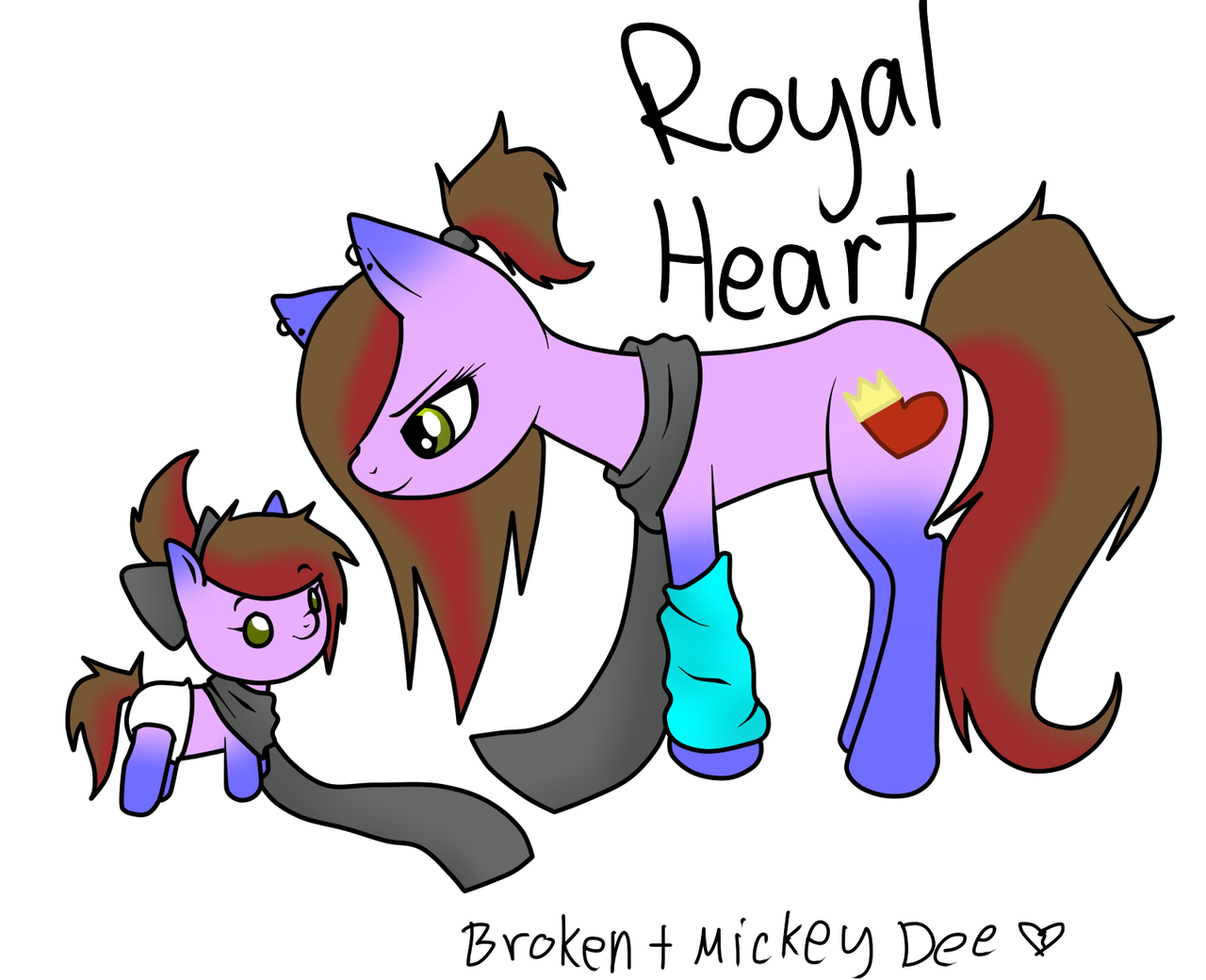 Royal Heart by Black-Rose-Emy