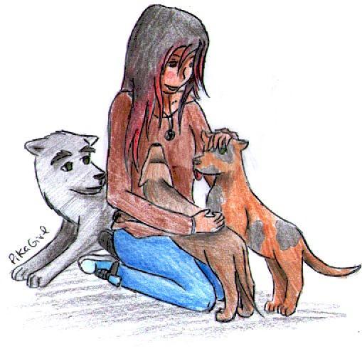 Chicas semen con perros