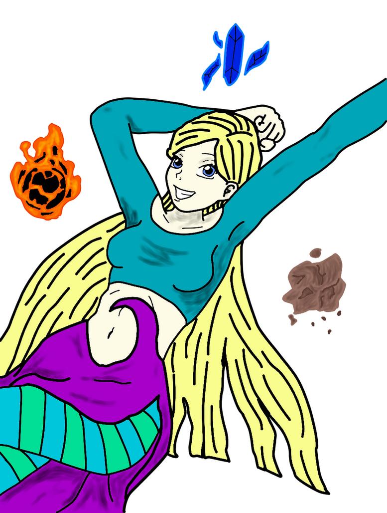 Cornelia Hale Gonna Rock Your World by Phantalus